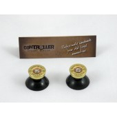Pair of Thumbstick Bullet Brass+Nickel for PS4 Controller
