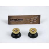 Pair of Thumbstick Bullet Brass+Nickel for XBOX One Controller