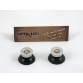 Pair of Thumbstick Bullet Nickel+Nickel for XBOX One Controller
