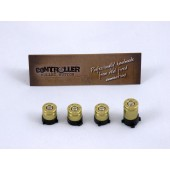ABXY Bullet Buttons Brass+Nickel for XBOX One Controller